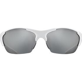 UVEX blaze III Glasses white black/silver